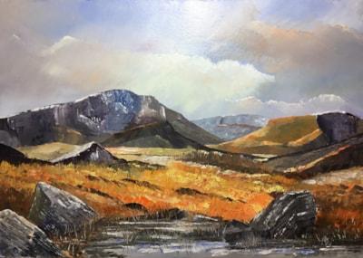 'Y Garn', Snowdonia