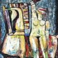 The Maid of Orleans oil painting Bogomolnik