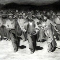 Il quarto Stato ( copy from Pellizza da Volpedo)