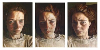 Self-portrait (Triptych)