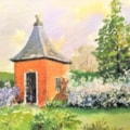 In Hidcote Manor Garden Gloucestershire.