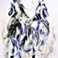 Two Blue Horses....