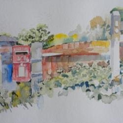 Bridleway to Warsash Common