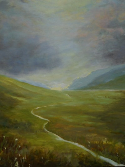 Light catching the moors