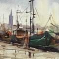 Fleet in Port