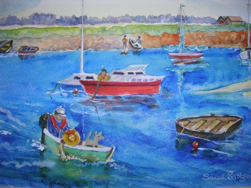 Boating fun-Wells, Norfolk