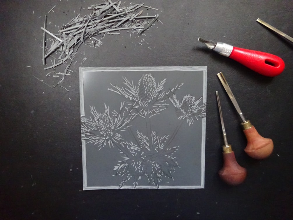work in progress - new print