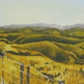 """ Back road view, Turakina Valley """