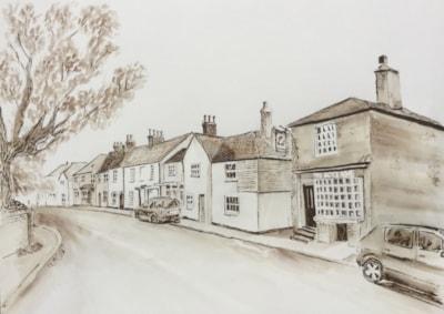 My village High Street
