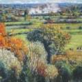 Autumn, Somerset Levels.