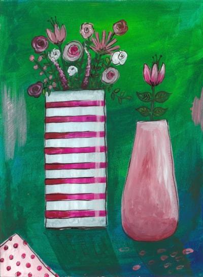 Pink pots of joy