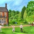 Edwardian Garden Party at lymm Hall