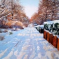 Midland Road in Snow
