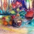 Leeks, bulbs and berries...