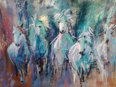'Blue Horses'