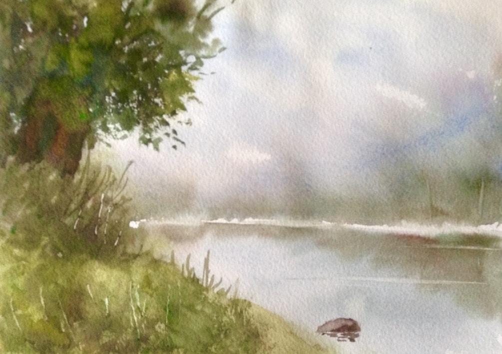 Misty old river 2