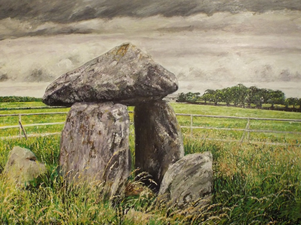 Bodowyr Chamber Tomb - Angelsey