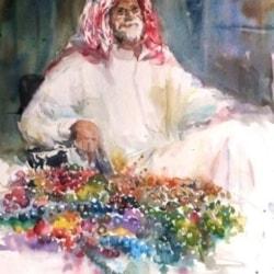 Tasbi seller in Dubai