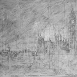 The Parliament and Westminster Bridge, London