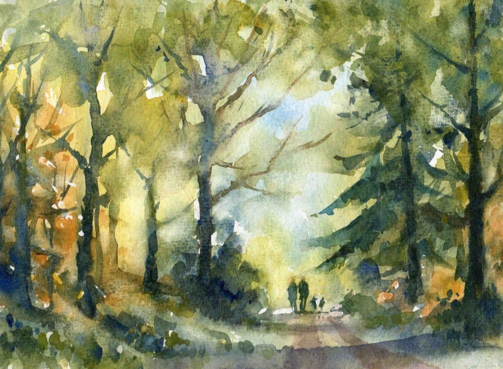 A walk on Bradley Hill