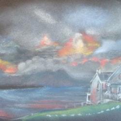 Sunset over Ballyheigue, Co. Kerry