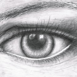 What the eye can see..