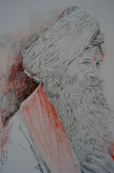 Ganges Holy Man