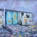 The Blue Doors! (Final piece - project) Hoorah!