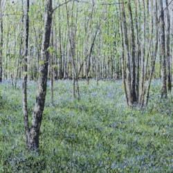 Impressionistic Bluebells