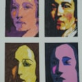 Joshua Reynolds in the Style of Andy Warhol.