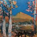 Hen Cloud -  Autumn colours