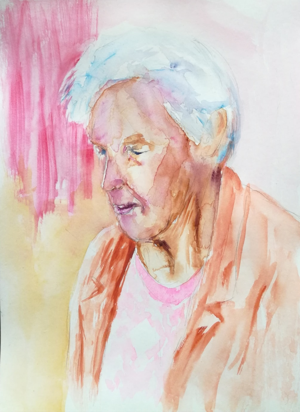 Ninethy Years old Woman