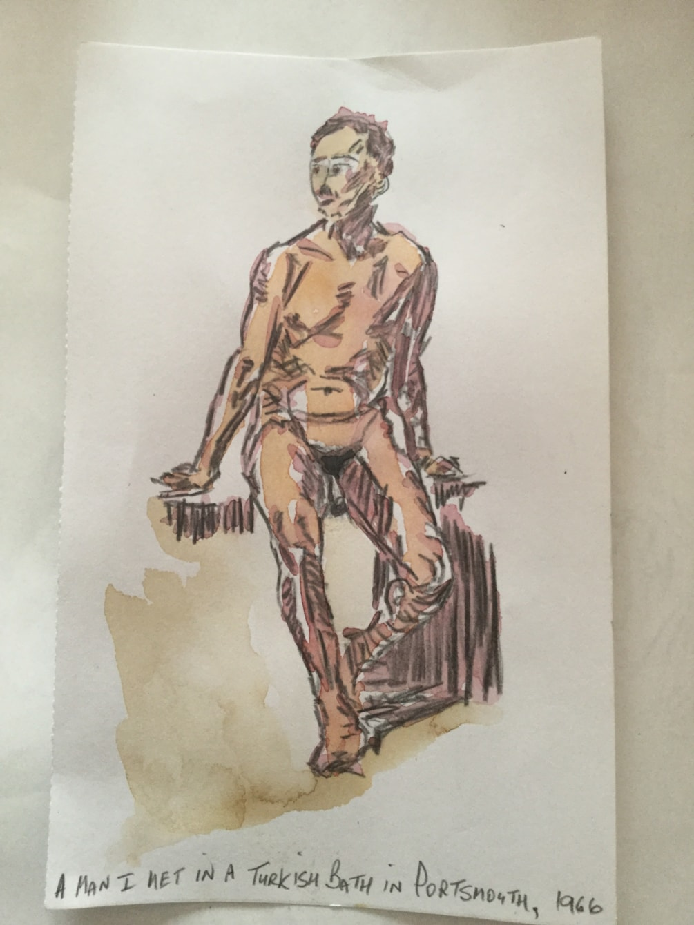 A man I met in a Turkish bath