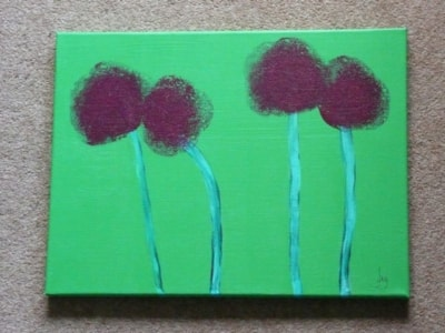 Abstract Alliums