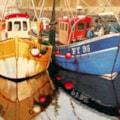 Trawlers at Plymouth Barbican