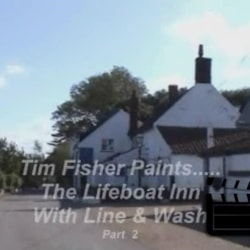 Painting The Lifeboat Inn ~ Part 2