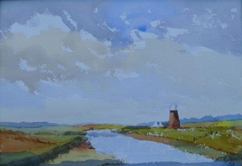 Reydon mill, Suffolk