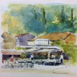Thomas's cafe Corfu