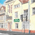 Small Painting - Grand Hotel Port Talbot