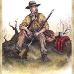 Private 1st Texas Brigade 1864