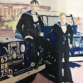 Geoff and Colin, Naval Airmen, Aircraft Handlers, ships Landrover drivers, HMS Bulwark.