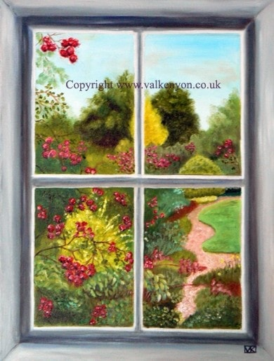 Eastwards through the Window