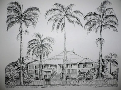 Tropical north Queensland house