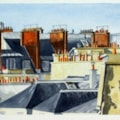 Paris Roofs and Chimney Pots.
