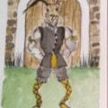 Shakespearean  Hares 'Malvolio'
