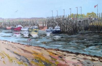 Fast Rising Spring Tide, Rye Harbour