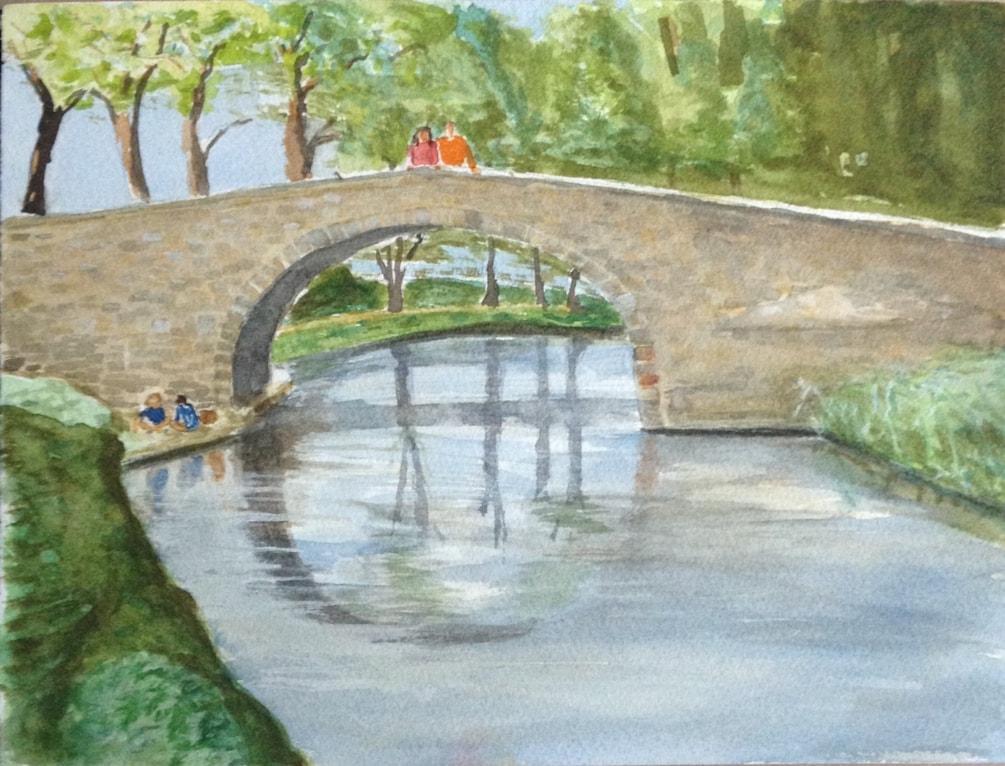 Bridge over the Canal du Midi