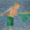 The Boy in the Green Swimming Trunks
