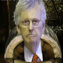 Senator McConnell Caricature