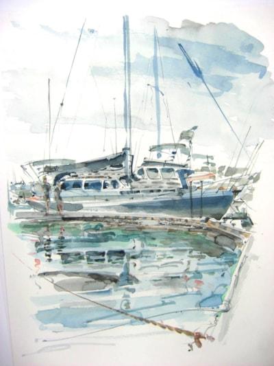Lochmara, Half Moon Bay Marina...